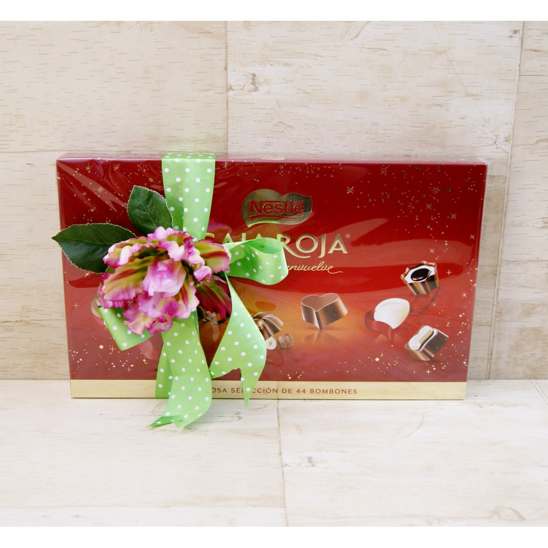 Caja de bombones Nestlé Caja Roja